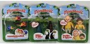 3 Sets Monchhichi Spiel Figuren