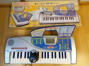 Bontempi Sprechendes Kinder DJ Keyboard