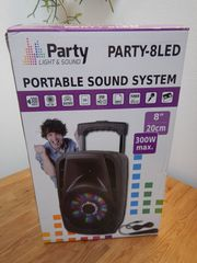 Portables Soundsystem neuwertig