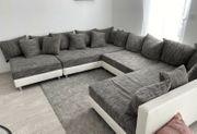 Sofa sofalandschaft Ecksofa couchgarnitur