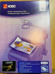 Farb-Laserfolien für Overhead-Projektoren Nobo 33638782