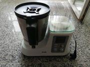 -Küchenmaschine mit Kochfunktion und Waage