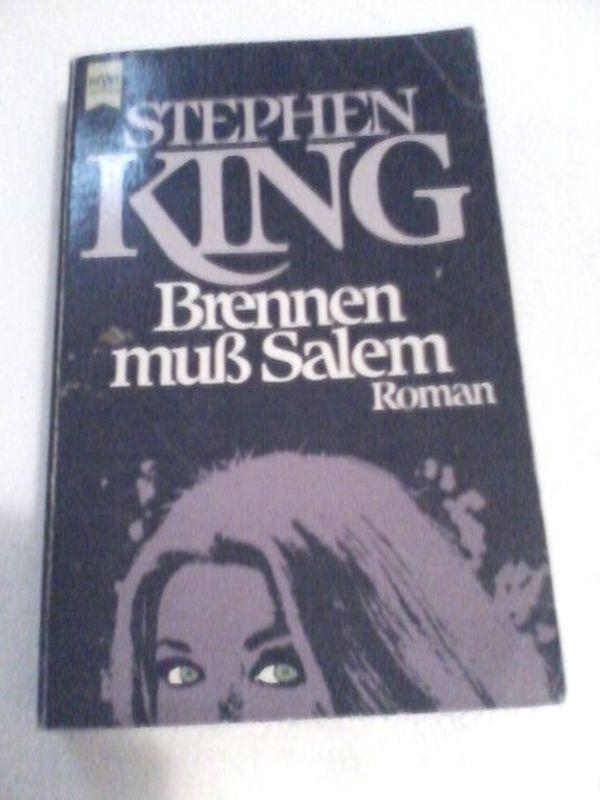 Brennen muss Salem - Stephen King - Roman - Heyne Verlag - 1987 - 9783453020535