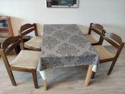 4 Stühle Esszimmer Rustikal