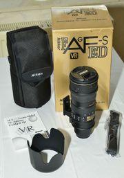 Nikon Telezoom Objektiv AF-S VR
