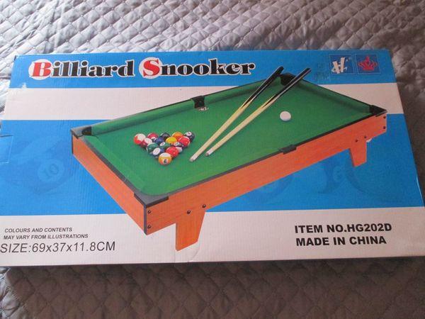 Mini Pool Billiardtisch