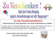 Tischtennis spielen in Augsburg Verein -