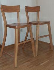 zwei Ikea-Hochstühle Jussi