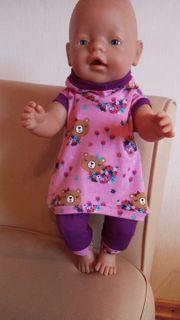 Puppenkleidung 2-teilig für Puppen 37 -