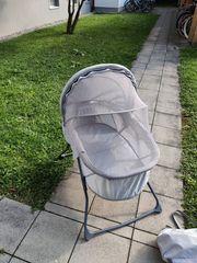 Fillikid Babywiege portables Babybett - 90