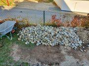 Betonpflaster Wackersteine Betonfliesen zu verschenken