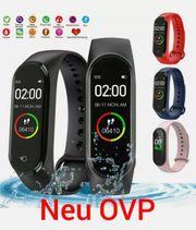 Bluetooth Smartwatch Fitness Armband Sportuhr