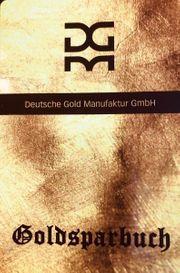 Gold-Sparanlage Goldsparbuch Gold for Kids