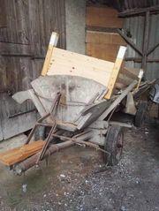 Holzanhänger für Traktor kostenlos abzugeben