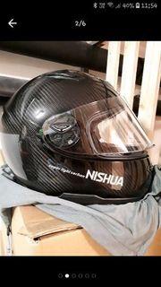 Motorradhelm Nishua