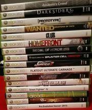 Xbox360 Spiele Sammlung
