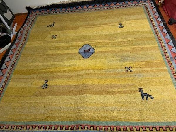 quadratischer Teppich