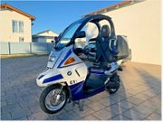 Roller ABS Blau Metallic BMW
