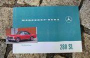 Betriebsanleitung Mercedes W113 280 SL