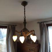 Herrschaftliche Adlerlampe Bronze Lüster Kronleuchter