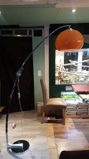 sölken Bogenlampe Stehlampe 70er Jahre