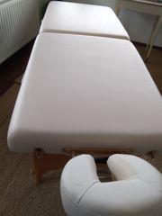 Massageliege neuwertig
