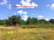 Grundstück mit Blick und Baugenehmigung