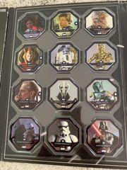 Sammelkarten Star Wars und DFB
