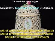 Ankauf Royal Copenhagen- Ankauf Königlich