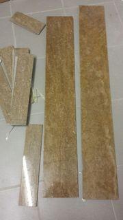 Travertin Stellplatten und Sockel