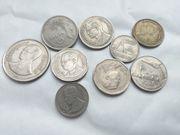 Biete alte Kurs Umlaufmünzen aus