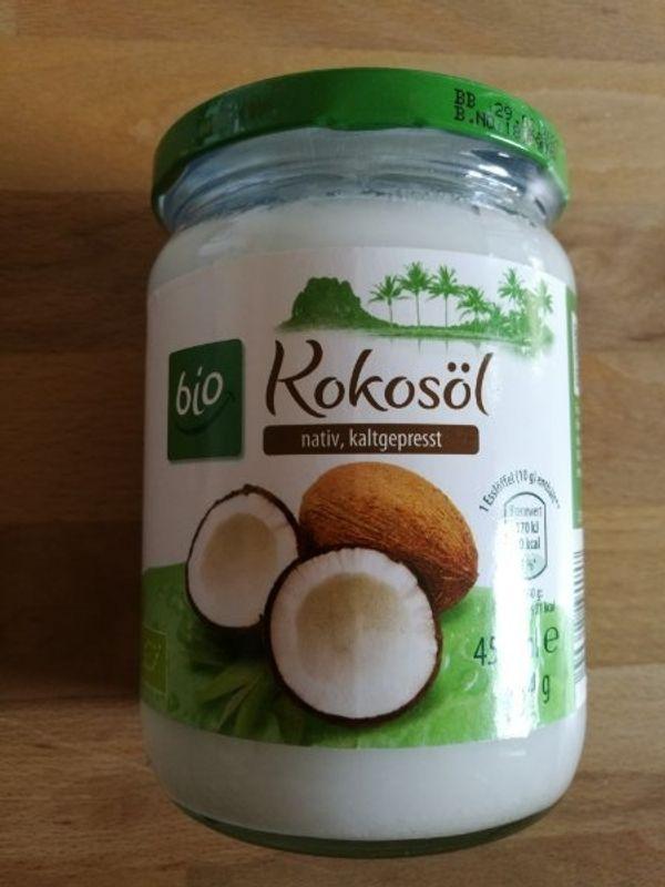 Kokosöl nativ kaltgepresst Bio