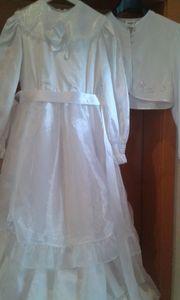 Kommunionkleid mit Bolero-Jäckchen