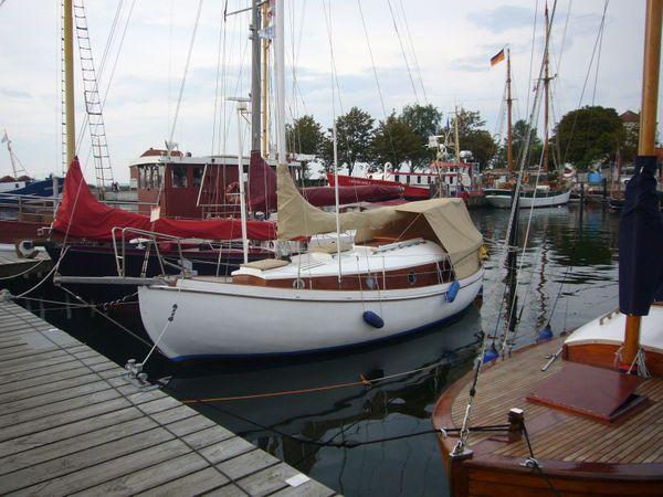 Segelboot Holzboot Dänischer Spitzgatter von