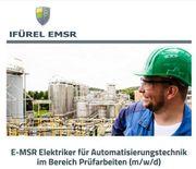 E-MSR Elektriker für Automatisierungstechnik