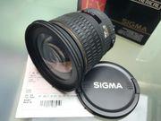 Sigma Weitwinkelobjektiv 20mm F1 8
