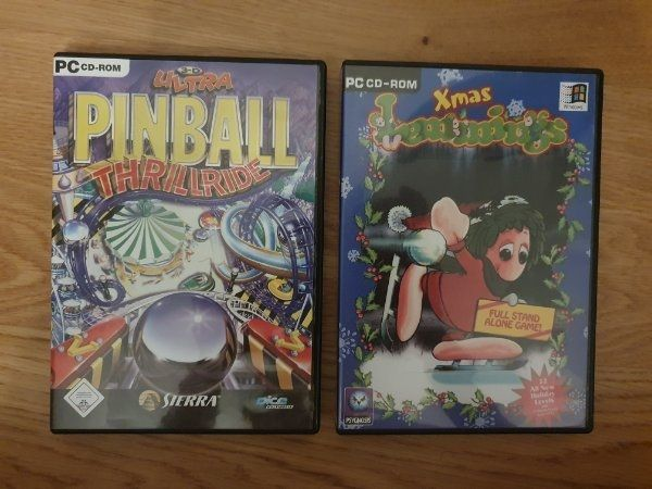 PC CD-ROM Xmas Lemmings Pinball