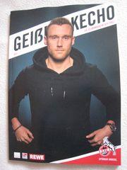 NEU - Magazin Geißbockecho FC-Clubmagazin Köln