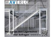 Lagerbühne als L Form 48m²