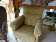 Antiker Polster-Sessel
