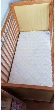 Kinderbett Babybett 60 120cm mit