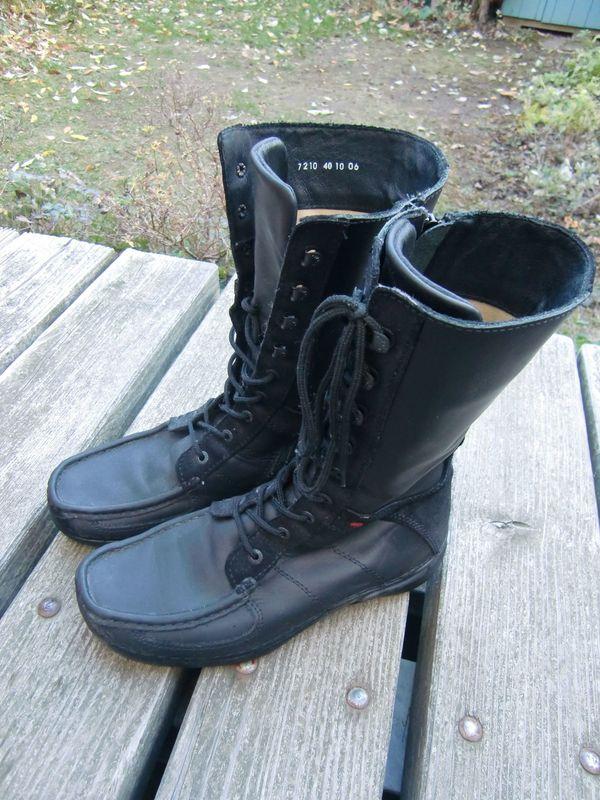 In Von Wolky Stutensee Schuhe Schwarze Lederstiefel CoedWrxB