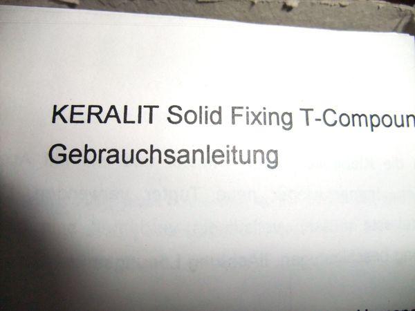 Reparatur Set Hornspalten Hornverletzung Hornrisse