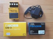 Boss Overdrive Distortion Gitarrenpedal OS-2