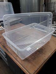 Stapelbox mit Deckel 4 Stück