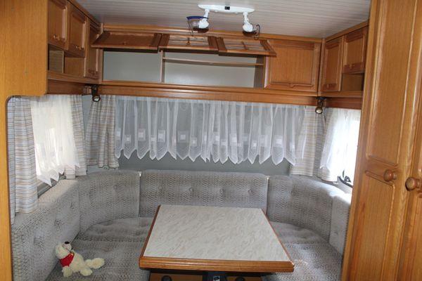 Wohnwagen Hobby De Luxe 100