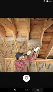 Dachdecker Dach Dachrinner arbeite