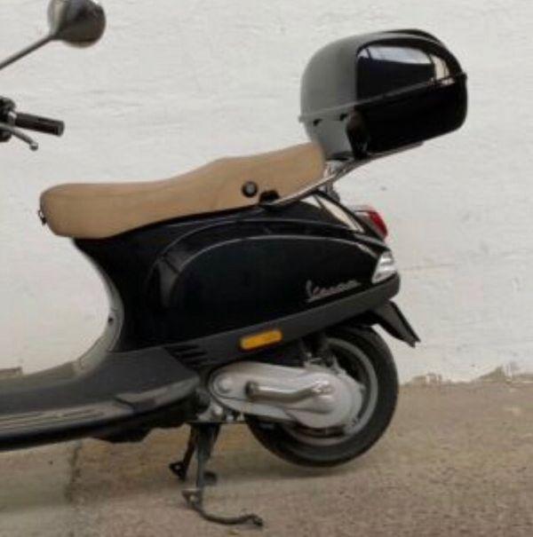 Original Vespa Gepäckträger mit Topcase