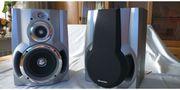 2 SHARP Stereo Boxen a