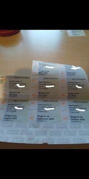 MVG Monatskarten München 1-4 jetzt